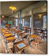 Old Schoolroom Canvas Print