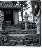 Old Shrine Canvas Print