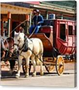 Old Tucson Stagecoach Canvas Print