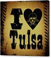 Old Tulsa Canvas Print