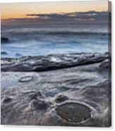On The Ledge - Sunrise Seascape Canvas Print