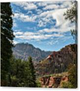 On The Road To Red Rocks  Canvas Print