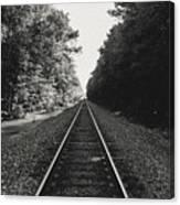 On Track Canvas Print