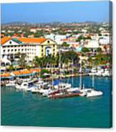Oranjestad Aruba Canvas Print