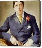 Oscar Wilde, Literary Legend Canvas Print
