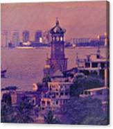 Our Lady Of Guadalope In Puerto Vallerta Mexico. Banderas Bay. Canvas Print