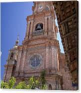 Our Lady Of Guadalope, Puerto Vallareta Canvas Print