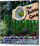 Over 100 Yrs In Bloom, Historic Garden Icon, The Butchart Gardens. Canvas Print