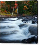 Oxtongue River Ontario Autumn Scenery Canvas Print