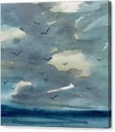 Pacific Seascape Canvas Print