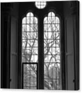 Palace Window Canvas Print