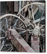 Palouse Farm Wheels 3156 Canvas Print