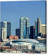 Panoramic View Of Nashville, Tennessee Canvas Print