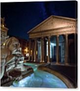 Pantheon Rome Canvas Print