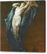 Paolo And Francesca Da Rimini Canvas Print