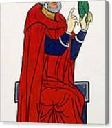 Paracelsus, Swiss Doctor And Alchemist Canvas Print