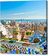 Park Guell Barcelona Canvas Print