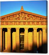 Parthenon In Nashville Canvas Print