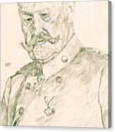 Paul Von Hindenburg Canvas Print