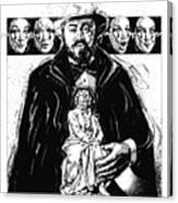 Pavarotti, Fidelio, Inking Canvas Print