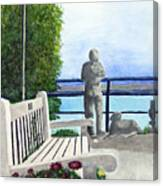 Peaceful Langley Canvas Print