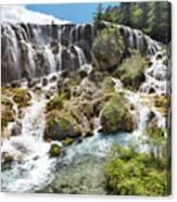 Pearl Shoal Waterfall Canvas Print