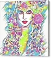 Peko - Keeper Of Flora Canvas Print