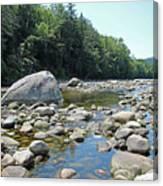 Pemmigewasset River Canvas Print