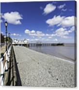 Penarth Pier 4 Canvas Print