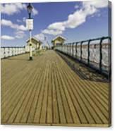 Penarth Pier 7 Canvas Print