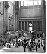 Pennsylvania Station Interior Canvas Print