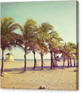 Perfect Beach Day Canvas Print