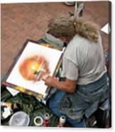 Performance Of Art Canvas Print