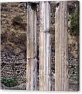 Pergamon Asklepion Colonnade Canvas Print