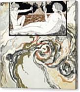 Personages De Comedie Canvas Print