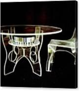 Perspex Furniture Canvas Print