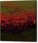 Petal Blast Canvas Print