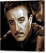 Peter Sellers, Actor Canvas Print