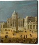 Peters Basilica Canvas Print