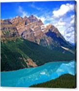 Peyto Lake, Banff National Park Canvas Print