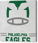 Philadelphia Eagles Vintage Art Canvas Print