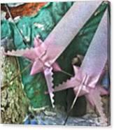 Pink Ribbon Altar Canvas Print