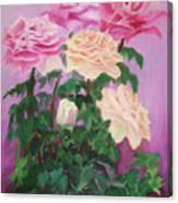 Pink Romance Canvas Print