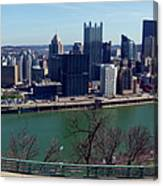Pittsburgh Panorama Canvas Print