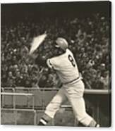 Pittsburgh Pirate Willie Stargell Batting At Dodger Stadium  Canvas Print