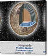 Planet Oceans Canvas Print