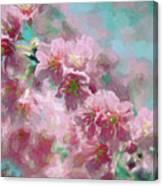 Plum Blossom - Bring On Spring Series Canvas Print