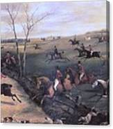 Po Hunp 15 H Alken-oakley Hunt Henry Thomas Alken Canvas Print