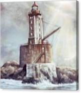 Point St. George Reef Lighthouse Canvas Print