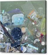 Polluted Dirty Water Canvas Print
